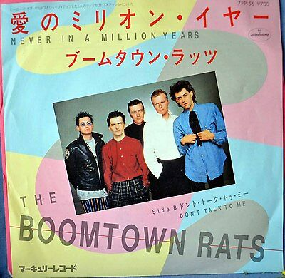 "The Boomtown Rats–Never In A Million Years, (Rare*  Original 7""Vinyl)Excellent !"