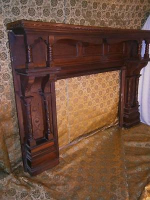 Victorian Eastlake Fire Place Mantle