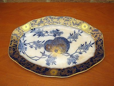 Rare Doulton Burslem Persian Spray (Royal) Serving Dish