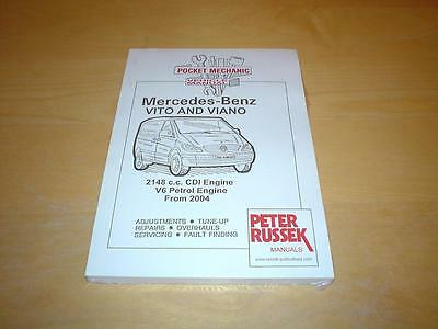 MERCEDES VITO W639 V CLASS 109 111 115 CDI 119 122 123 Owners Manual Handbook