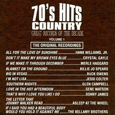 Various Artists - 70's Country Hits 1 / Various [New CD] Manufactured On Demand