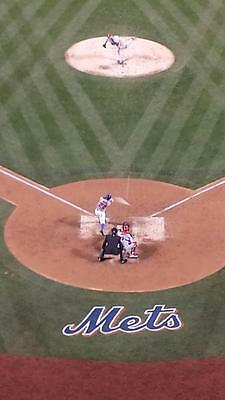 2 Tickets FRONT ROW New York Mets vs WS Champion Chicago Cubs 6/12/17