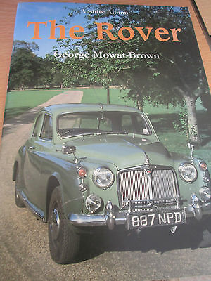 """rover""  Shires Book Rover Cars From 1904 To The Stirling 1989 Superb Reading"
