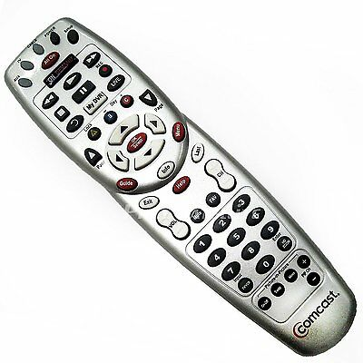 Comcast//Xfinity Remote RC1475509//01B With Battery+A Pair of Extra Spare Battery