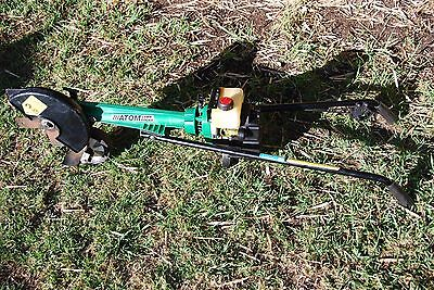 Atom lawn edger 104 2 stroke new carby kit, fuel line, air filter runs very well