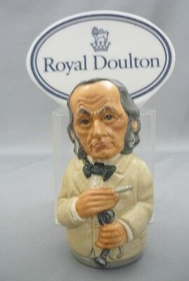 """THE PHYSICIAN"" Dr Pulse Royal Doulton Doultonville Character Toby Jug D6723"