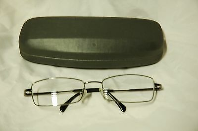 glasses with hard case (used)
