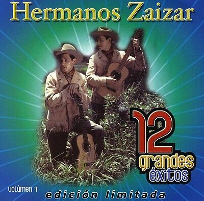 Los Hermanos Zaizar, Hermanos Zaizar - 12 Grandes Exitos 1 [New CD] Ltd Ed, Manu