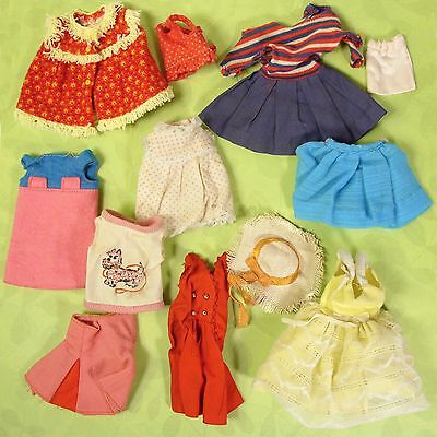 Vintage Skipper Clothes Accessories 12 Piece TLC Repair Lot or for Parts 1960s