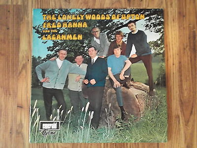 Fred Hanna & The Laganmen Lonely Woods Of Upton Irish Showband Trad Lp 1969
