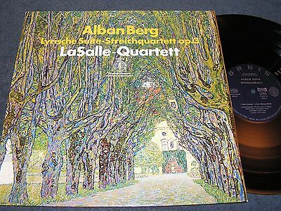 ALBAN BERG Lyrische Suite - LaSalle-Quartett / German LP 1971 ORBIS 63217