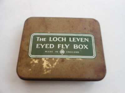 Vintage Richard Wheatley The Loch Leven Eyed Fly Box With Flies Mdae In England