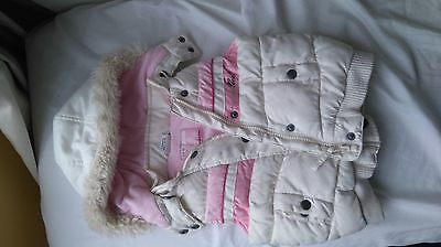 Next girls hooded body warmer 12-18 months, 1-1.5 years