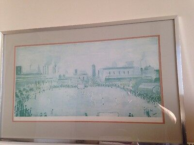 """L S LOWRY """"Cricket Match"""" LIMITED EDITION PRINT"""