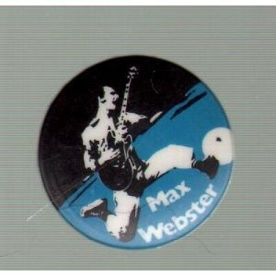 "MAX WEBSTER S/T BADGE 1"" Circular Button Badge UK"