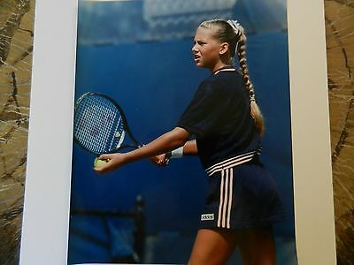 BEAUTIFUL TENNIS LEGEND ANNA KOURNAKOVA VINTAGE 8x10 PHOTO