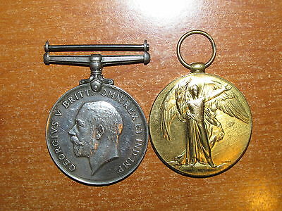 WW1 British Medal Group named to Northumberland Fusiliers nice