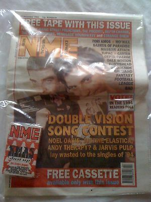 NME New Musical Express December 17 1994 w/ SEALED Cassette TORI AMOS Portishead