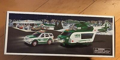 NEW IN BOX 2012 Hess Helicopter and Rescue Truck
