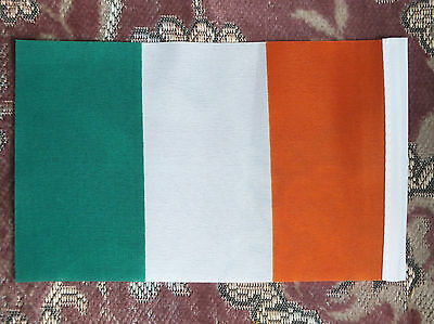 "Small Irish Flag 6""x4"" Ireland Tricolour Republican Eire hand/luggage sports"