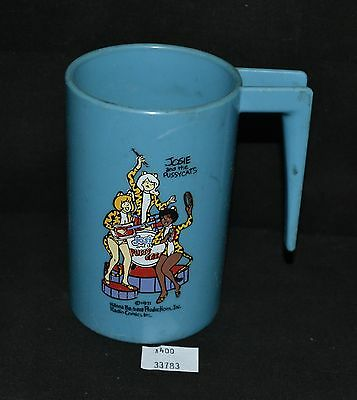 ThriftCHI ~ Vintage Josie and the Pussycat Hanna Barbera 1971 Plastic Cup