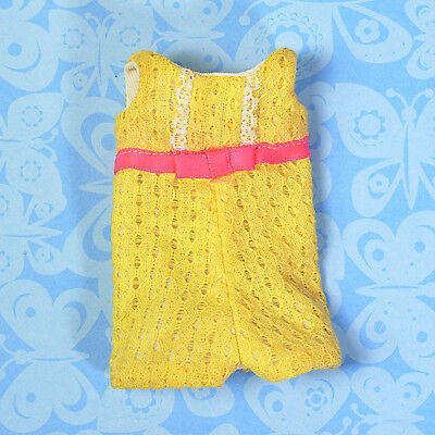 Vintage Skipper Clothes #1975 Sunny Suity Yellow Lace Romper 1969 EXCELLENT