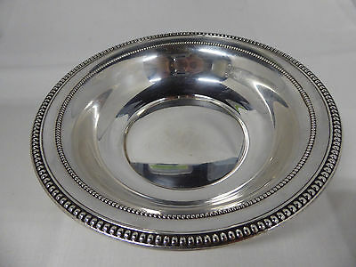 Vintage Small Sterling Silver Serving Bowl