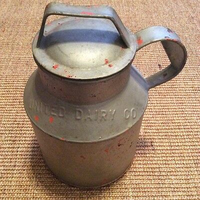 1950's ? Vintage United Dairy Co. Milk/Cream Can  (1 Gallon)