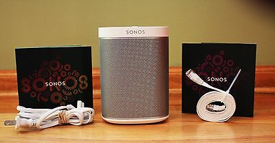 SONOS PLAY:1 Compact Wireless Music Streaming Speaker - White