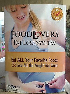 New Food Lovers Fat Loss System - NEW in box Complete!  Lose Weight!