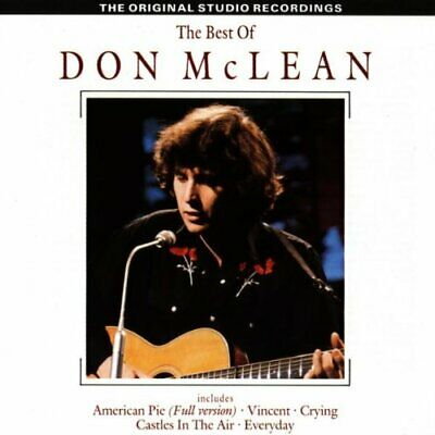 Don Mclean - The Best of Don Mclean - Don Mclean CD E7VG The Cheap Fast Free
