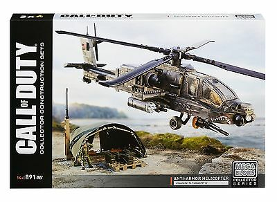 Mega Bloks Call of Duty Anti-Armor Helicopter Collector Construction Set