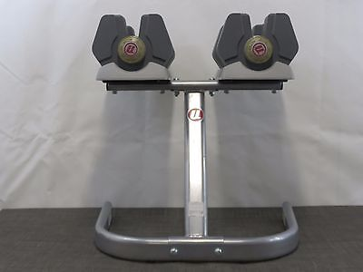 NAUTILUS Universal Selectorized 445 Dumbbells and Stand / DD4