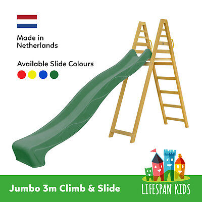 Lifespan Kids NEW 3m Jumbo Climb & Slide Playground Outdoor Backyard Toys