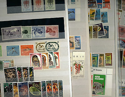 PNG - Papua New Guinea - MNH Stamp Collection - 6 pages