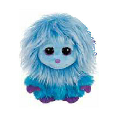TY Frizzys - MOPS the Blue Monster (6 inch) - MWMTs