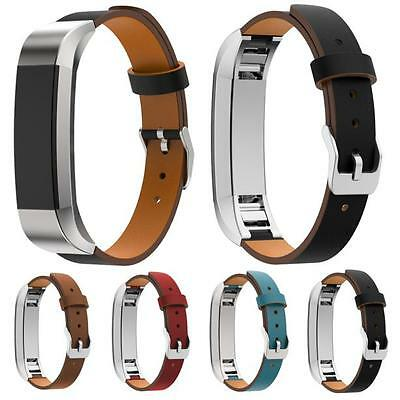 Genuine Leather Watch Band Wirst Strap Bracelet For Fitbit Alta Smart Watch