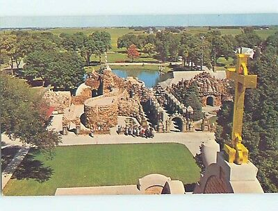 Unused Pre-1980 GROTTO OF REDEMPTION West Bend Iowa IA hn1147-12