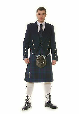 Spirit Of Scotland  8 Yard  Kilt  Ex Hire £99 A1 Condition Large Stock But Hurry