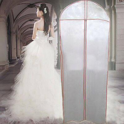 Wedding Dress Bag Garment Storage Gown Cover Bridal Dustproof Protector Clothes