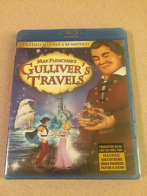 Gullivers Travels Blu Ray Sealed New Out Of Print Max Fleischer