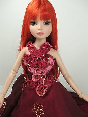 """Handcrafted Outfit two tone Dress 16""""doll Tonner Tyler Essential Ellowyne 210"""