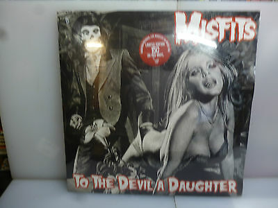 Misfits-To The Devil A Daughter. L.a., Usa 1982.-Red Vinyl Lp-New.sealed