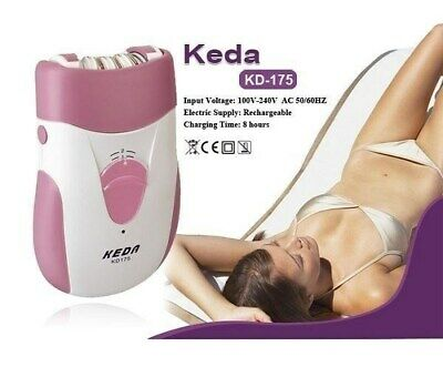 Brand New RECHARGEABLE Epilator Lady Ladies Body Hair Removal Trimmer Remover