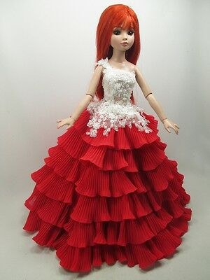 """Handcrafted Outfit two tone Dress 16""""doll Tonner Tyler Essential Ellowyne 200-99"""