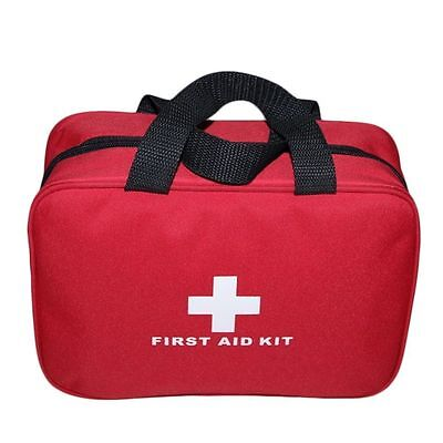 Portable Sports Camping Home Medical Emergency Survival First Aid Kit Bag ZX