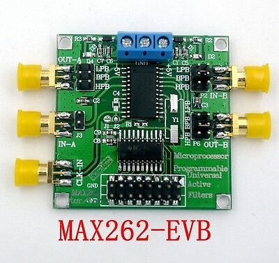 MAX262 Active Filter Module Programmable filter High and low pass band pass New