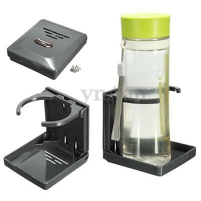 Adjustable Folding Drink Cup Holder Stand Auto Boat Marine Fishing Box Car Mount