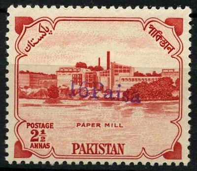 Pakistan 1961, 16p On 2a Local Districts Handstamped MNH #D39383