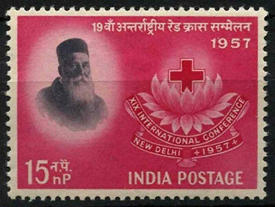 India 1957 SG#388 Red Cross MNH #D39202